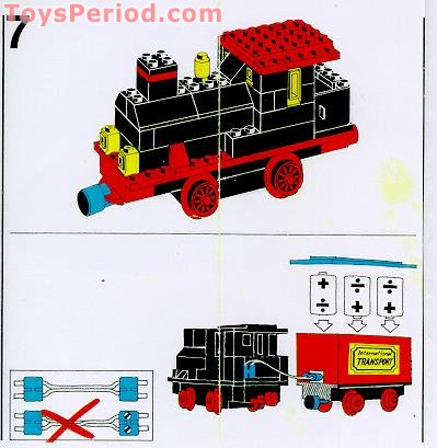 lego train set instructions