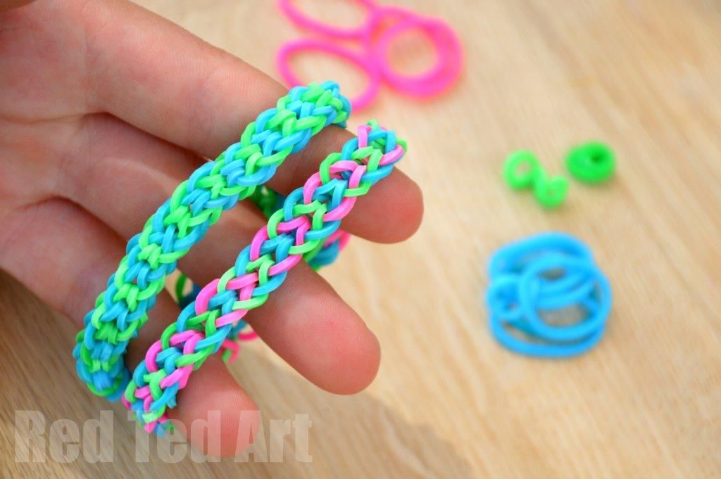 Fishtail loom bracelet instructions