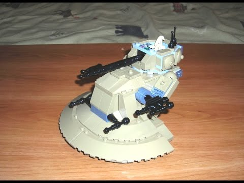 lego star wars droid tank 7155 instructions