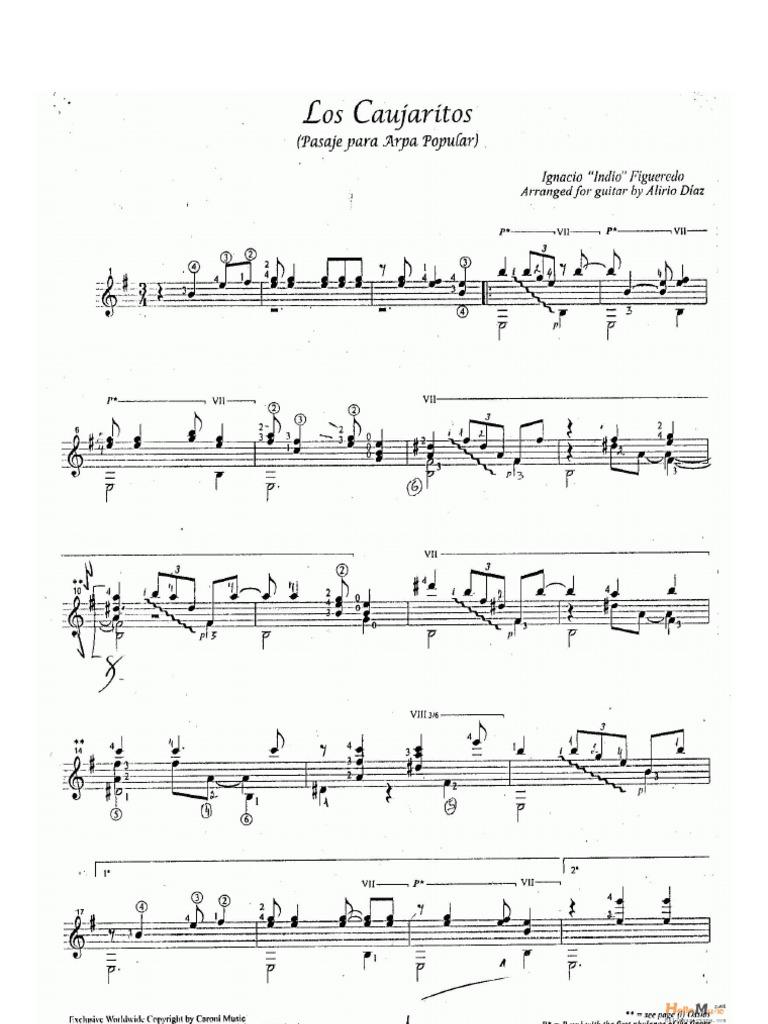 El diablo suelto pdf guitar duet