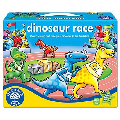 dinosaur race board game instructions