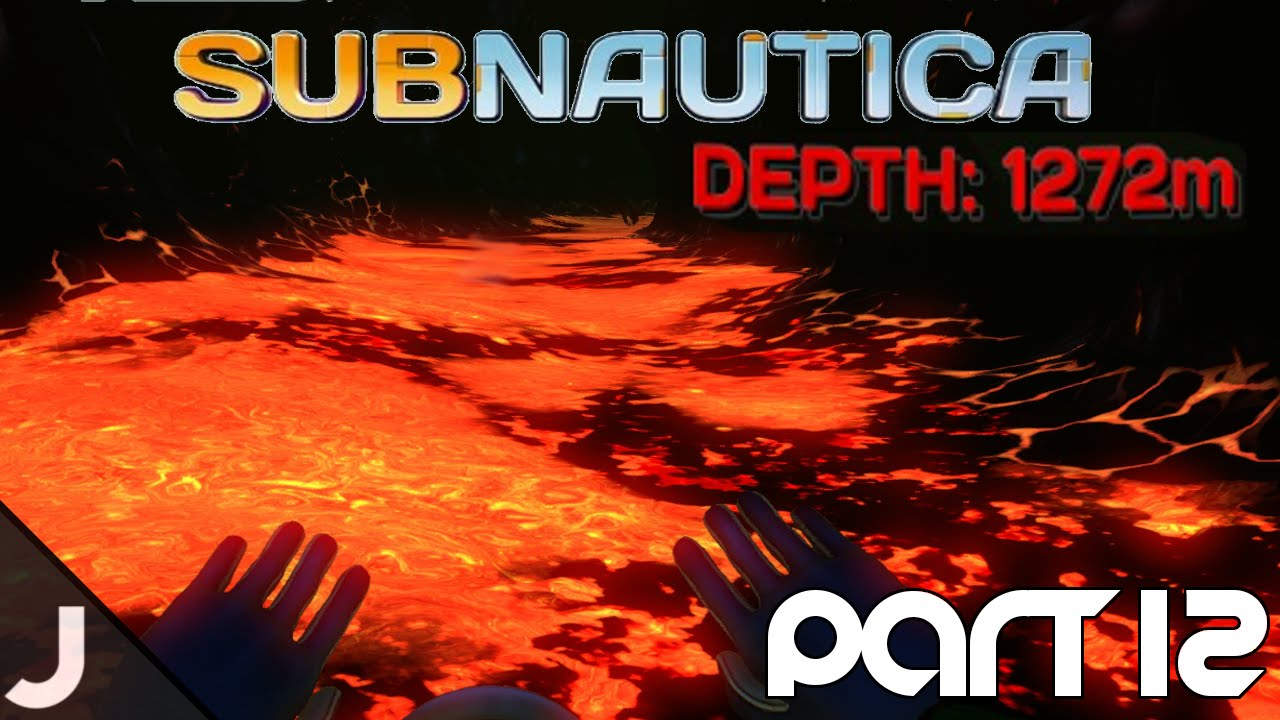 Subnautica how to get to the lava zone