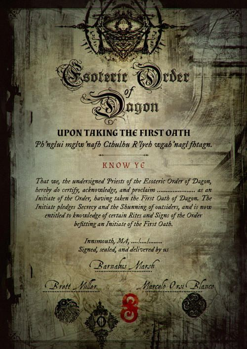 Esoteric order of dagon pdf