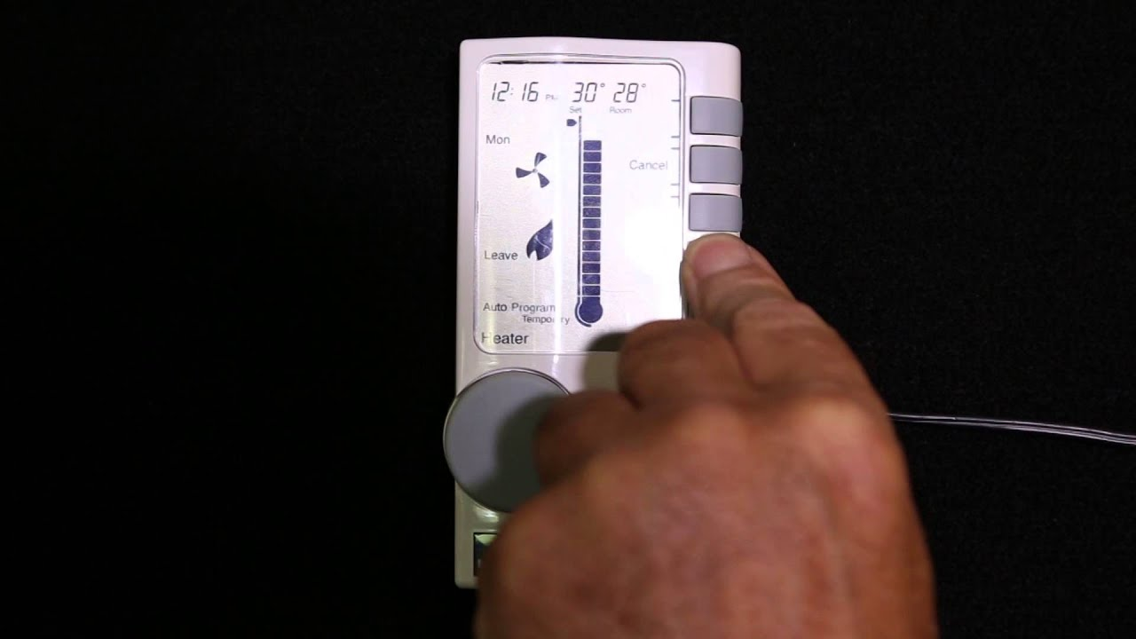 Brivis climate control instructions