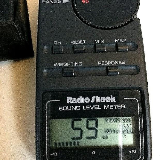 Radio shack sound level meter 33 4050 manual