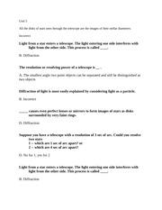 Cassegrain v cassegrain uni study guide