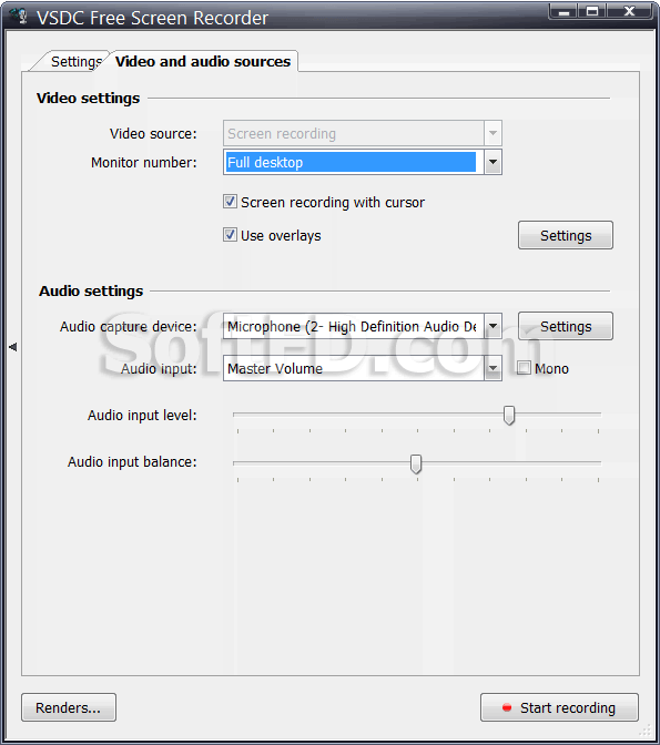 vsdc free screen recorder manual