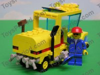 lego street sweeper 6649 instructions