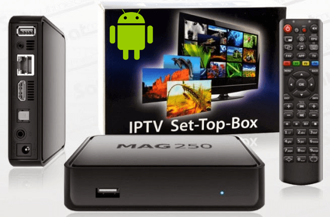 Iptv set top box mag 250 user guide