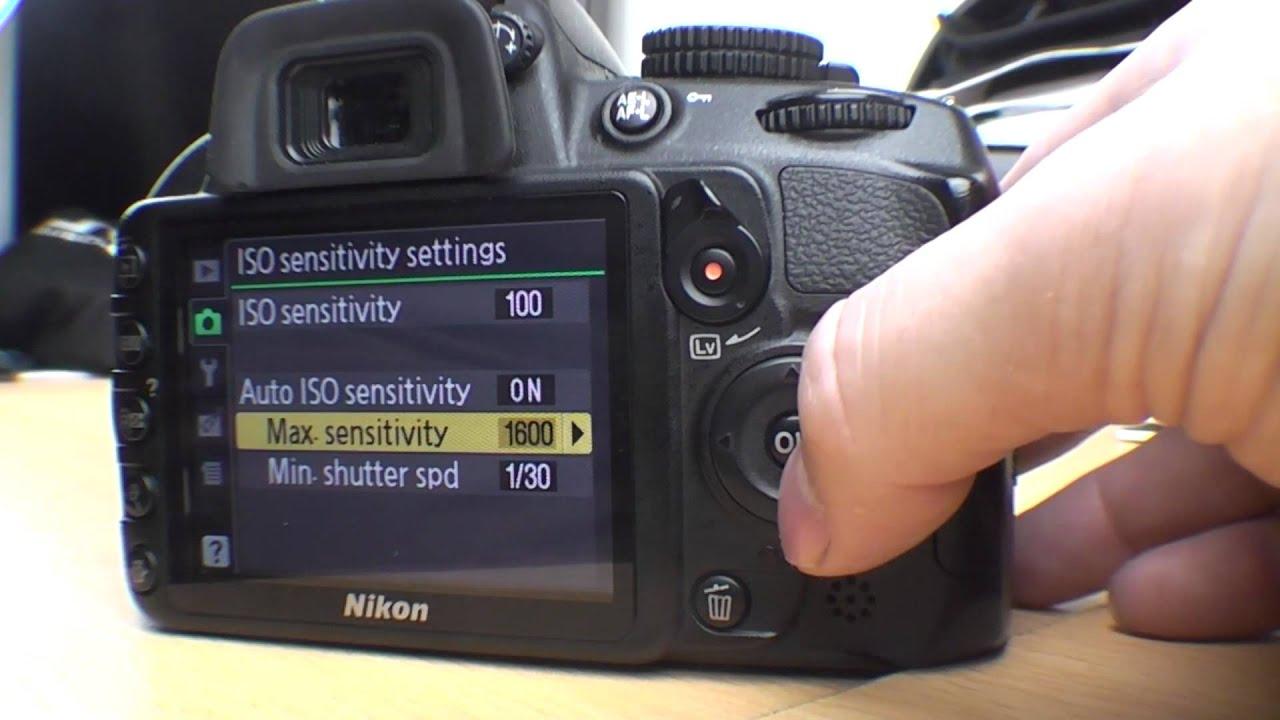 nikon d3100 manual mode not working