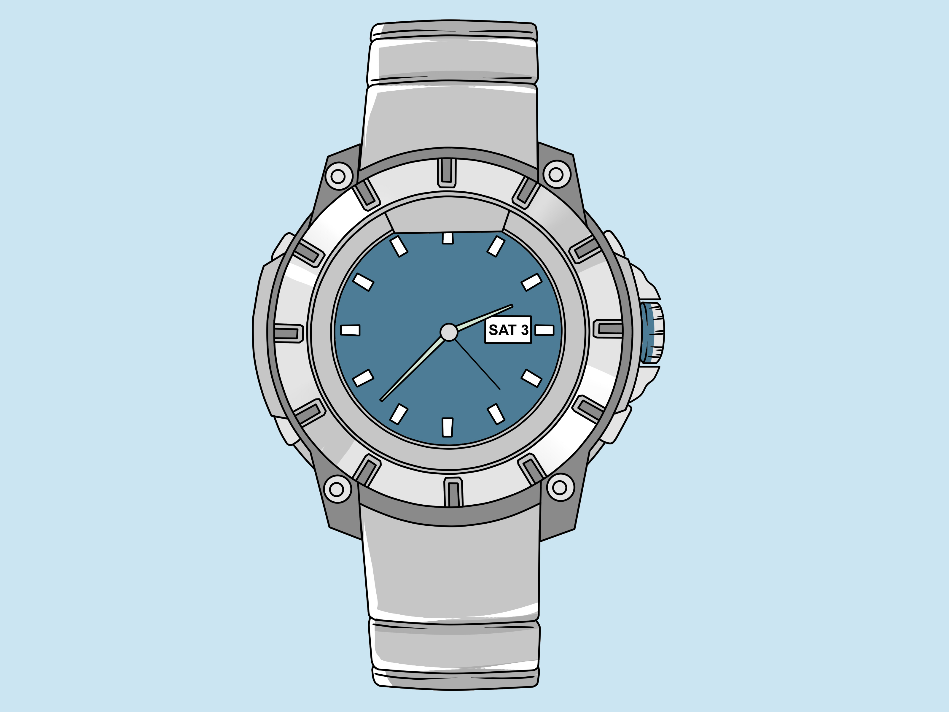 Armitron watch setting instructions