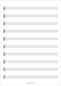 Free printable music sheets empty pdf