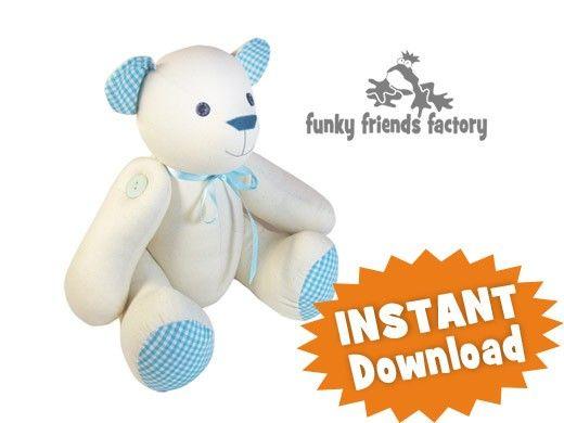 Free memory bear pattern pdf