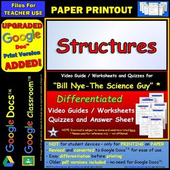 Bill nye structures worksheet pdf