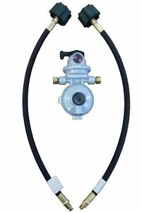 propane auto changeover two stage regulator manual