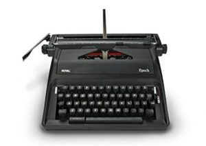 royal epoch portable manual typewriter review