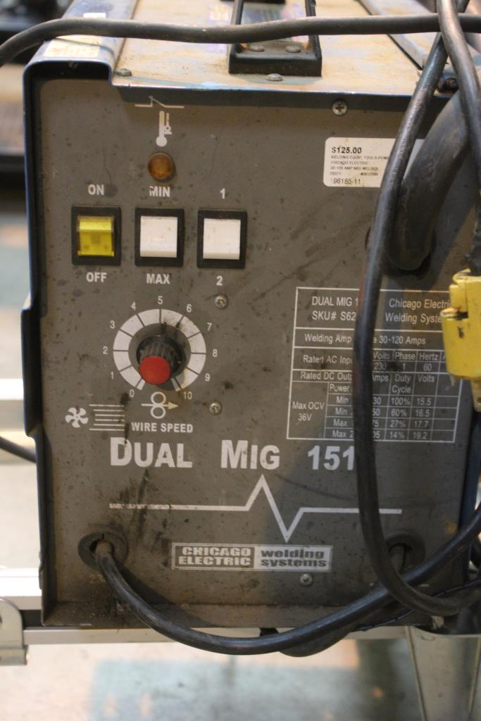 Chicago electric dual mig 151 manual