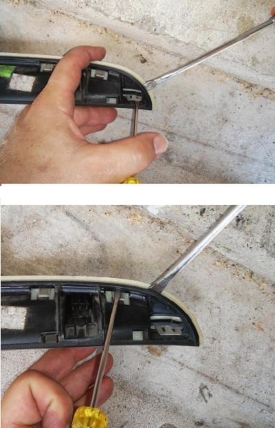 Mini cooper manual trunk release