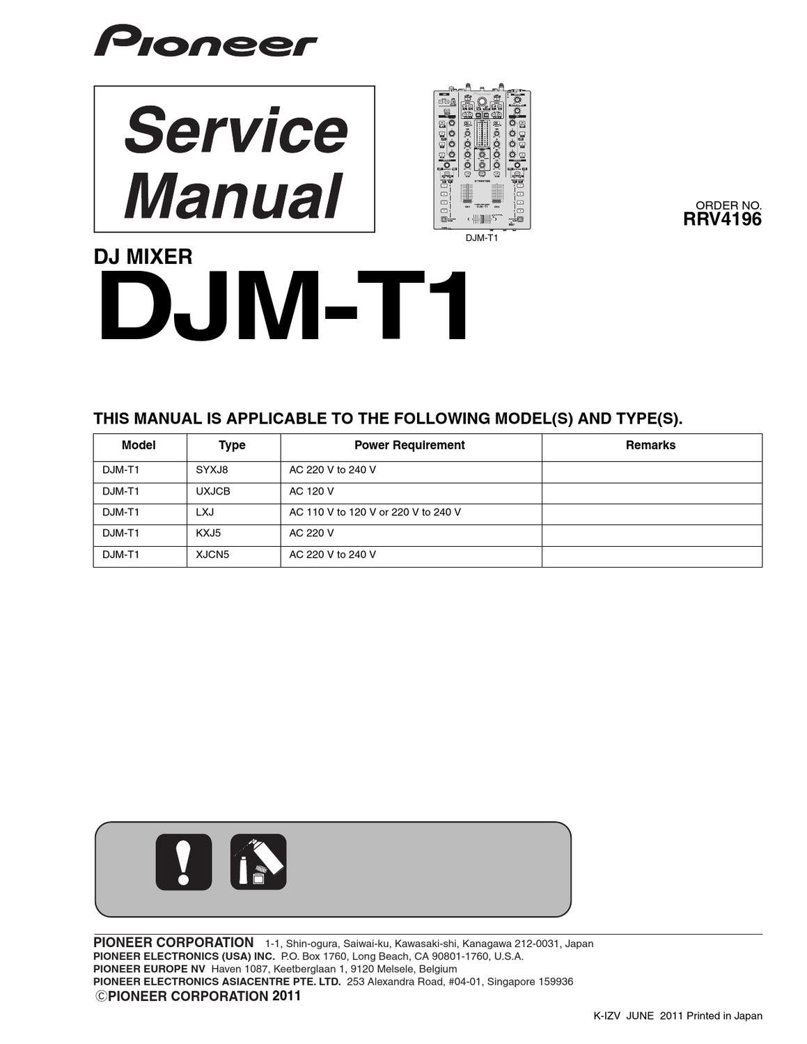 Djm 900 nexus 2 manual