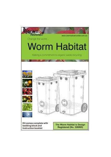 Can o worms wormery instructions