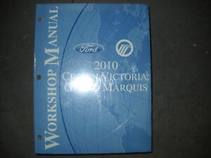 ford crown victoria repair manual pdf