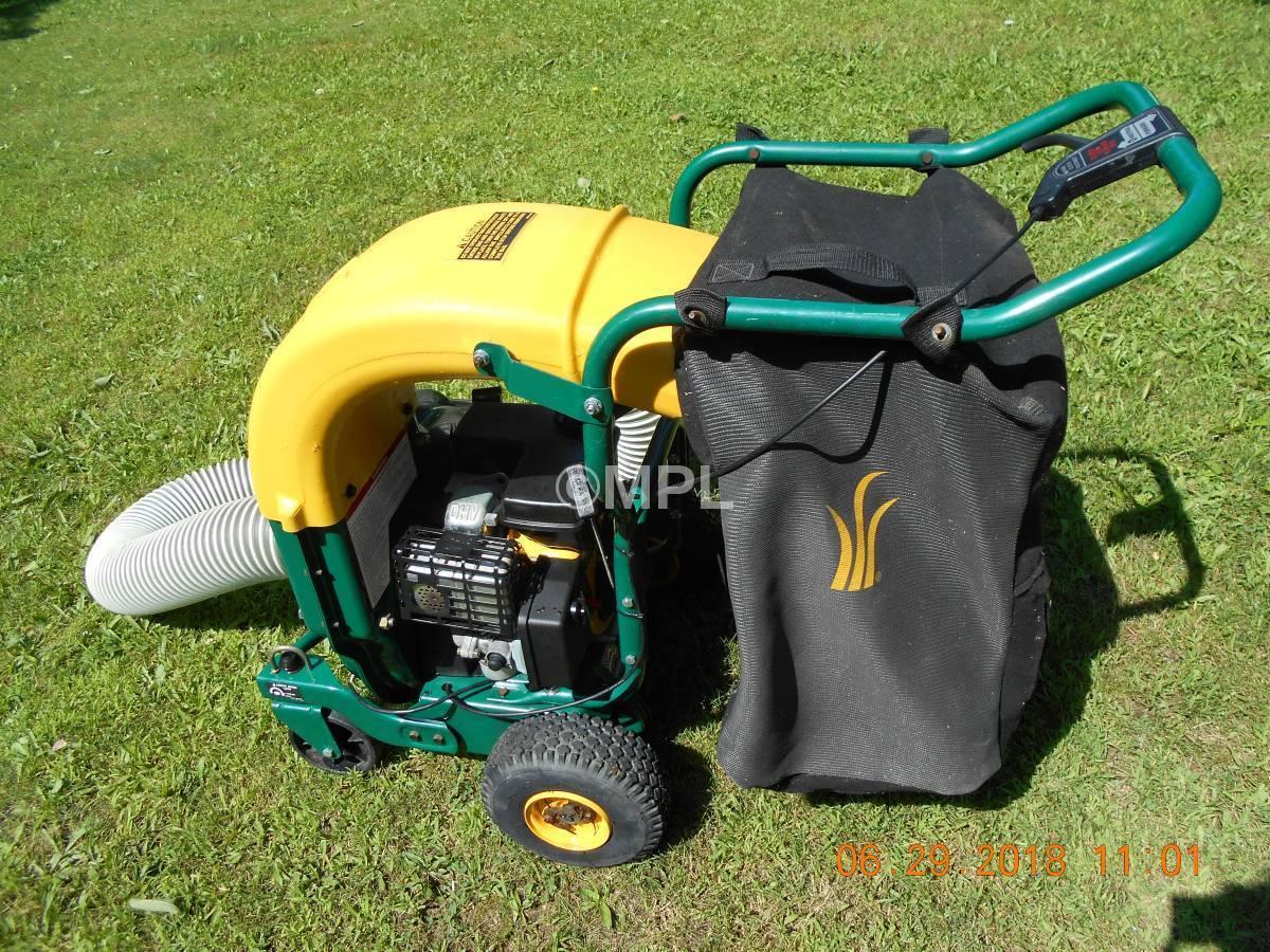Yard machine chipper shredder 5.5 hp manual