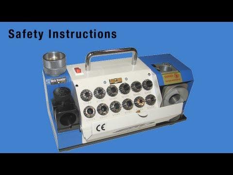 martek drill sharpener instruction manual