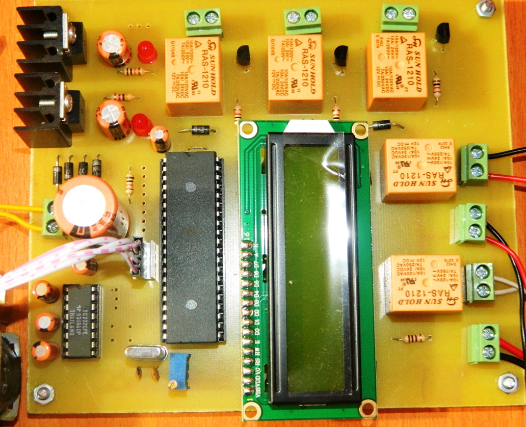 Home automation system project pdf