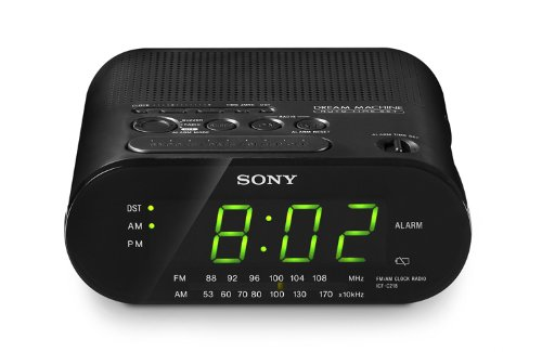 sony clock radio icf-c233 manual
