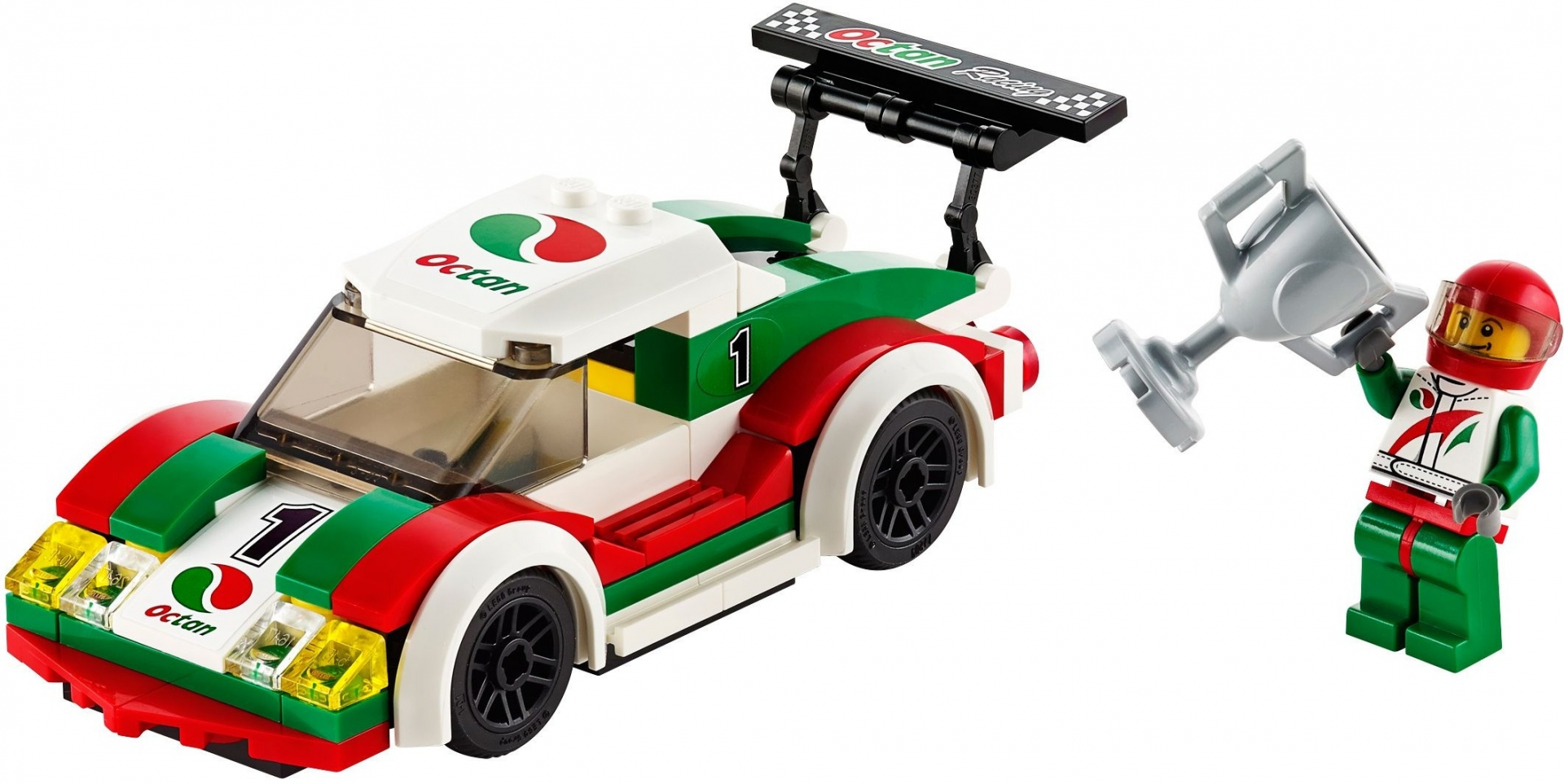 Lego race car instructions 60053