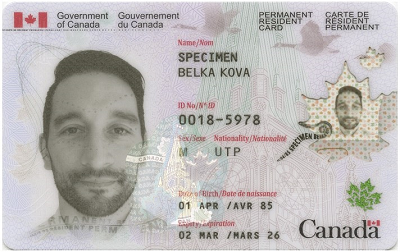 Canada permanent resident card document checklist