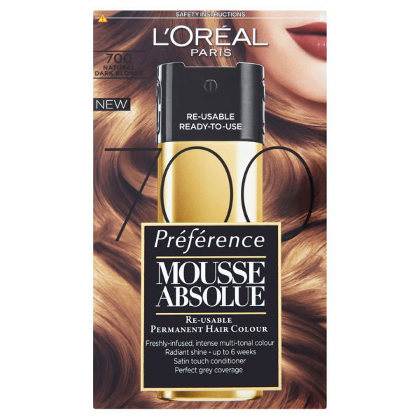 L oreal preference mousse absolue instructions