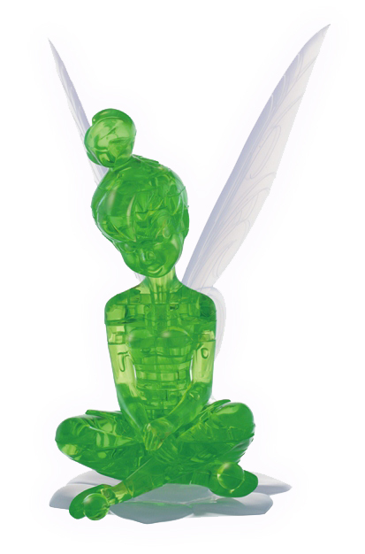 tinkerbell 3d crystal puzzle instructions