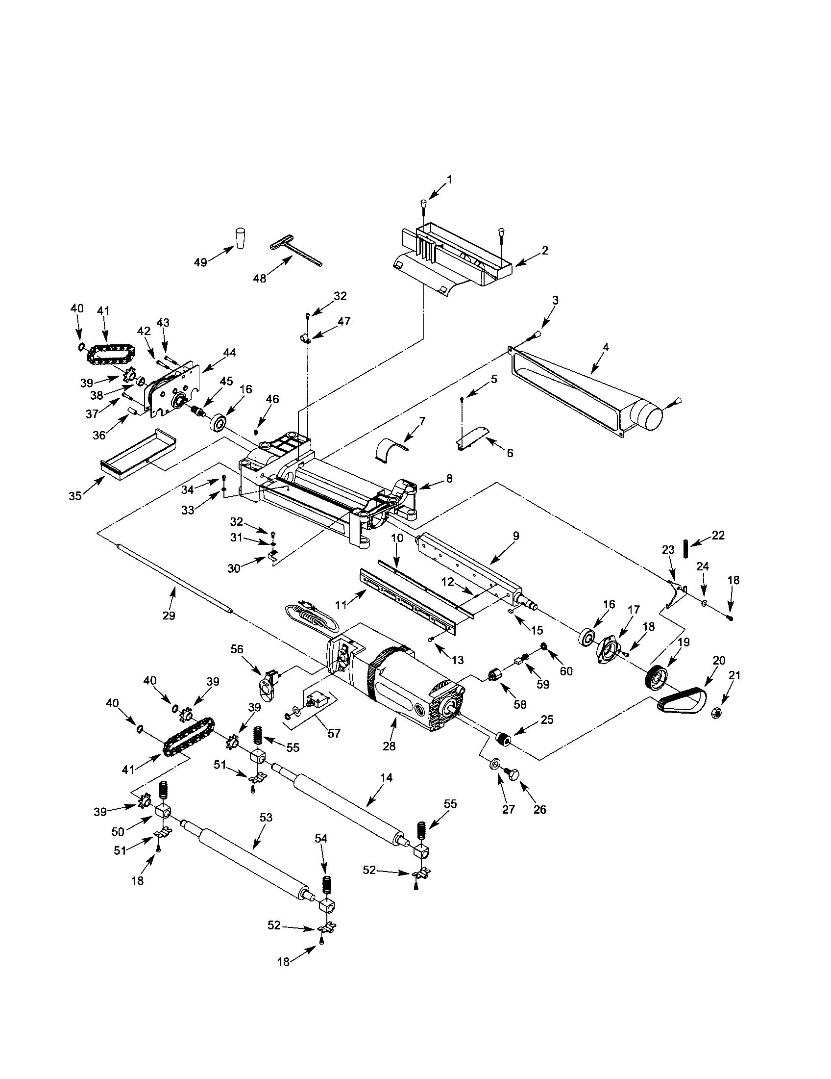 Mastercraft 12 1 2 in planer manual