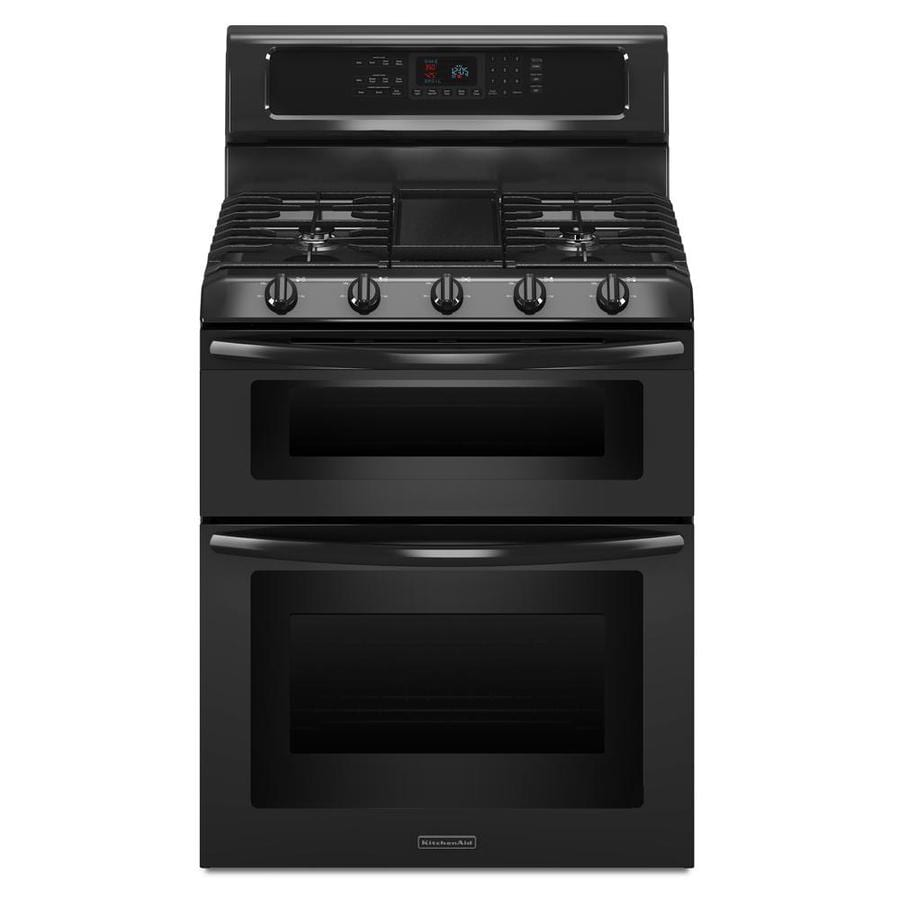 kitchenaid gas oven self cleaning instructions