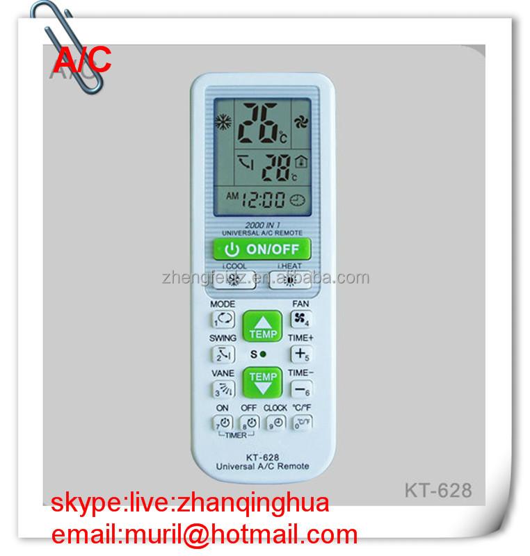 kt 628 universal remote manual