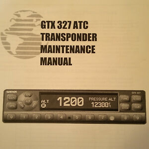 garmin gtx 330 mode s transponder manual