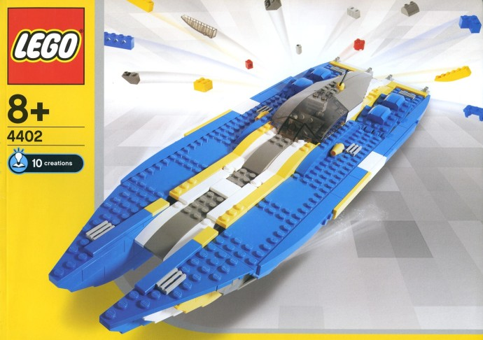 lego city speed boat instructions