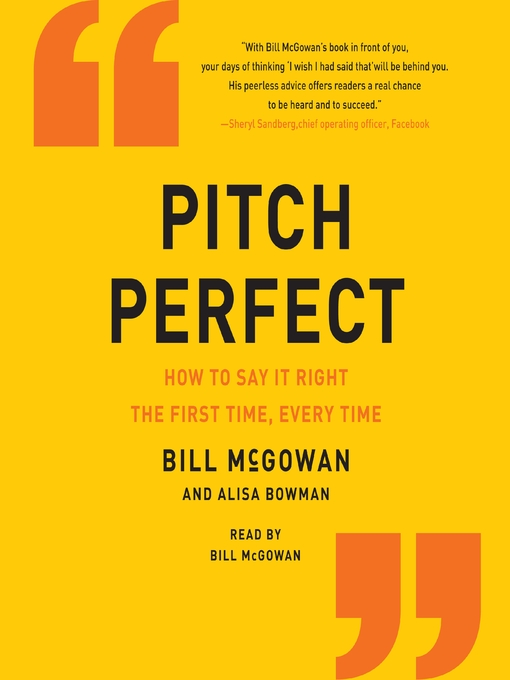 Pitch perfect bill mcgowan pdf