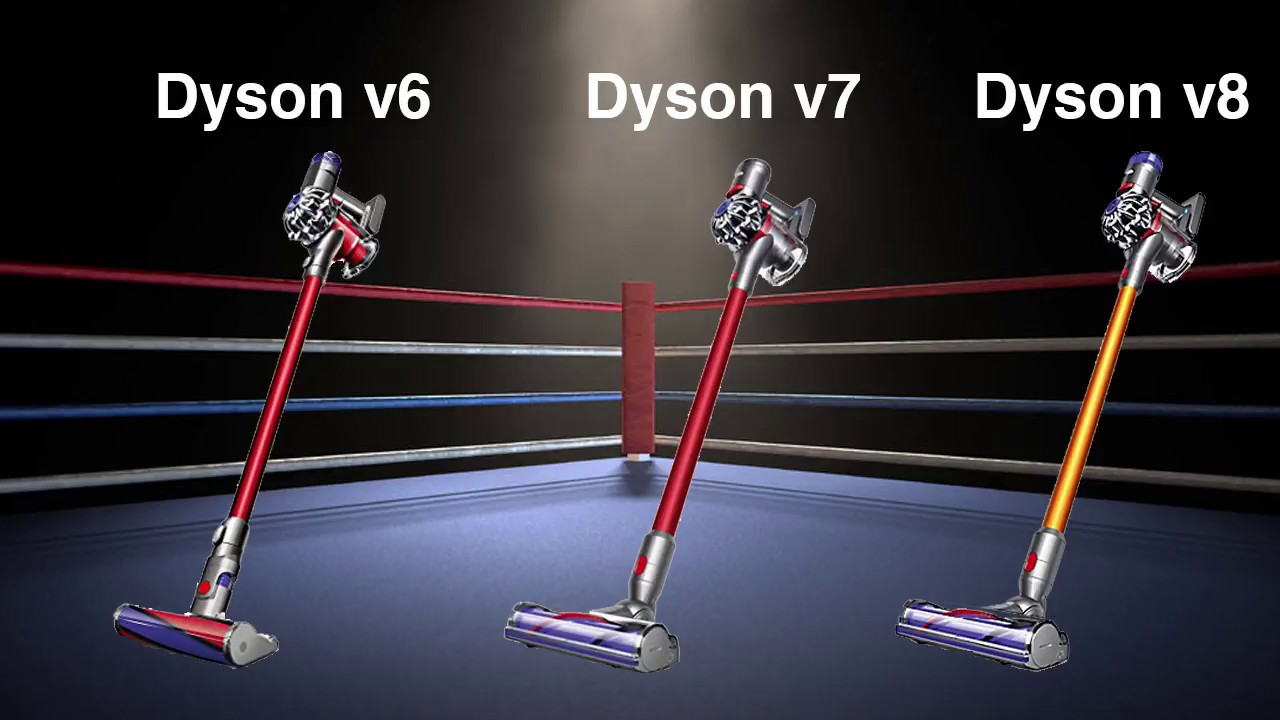 Dyson how to know v6  or v7