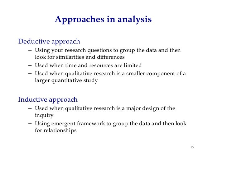 Types of data analysis in qualitative research pdf
