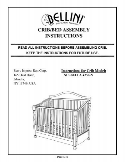 Next bed assembly instructions