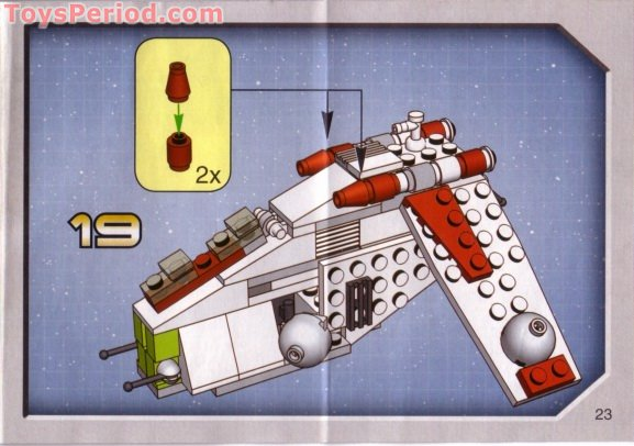 lego star wars mini droid gunship instructions