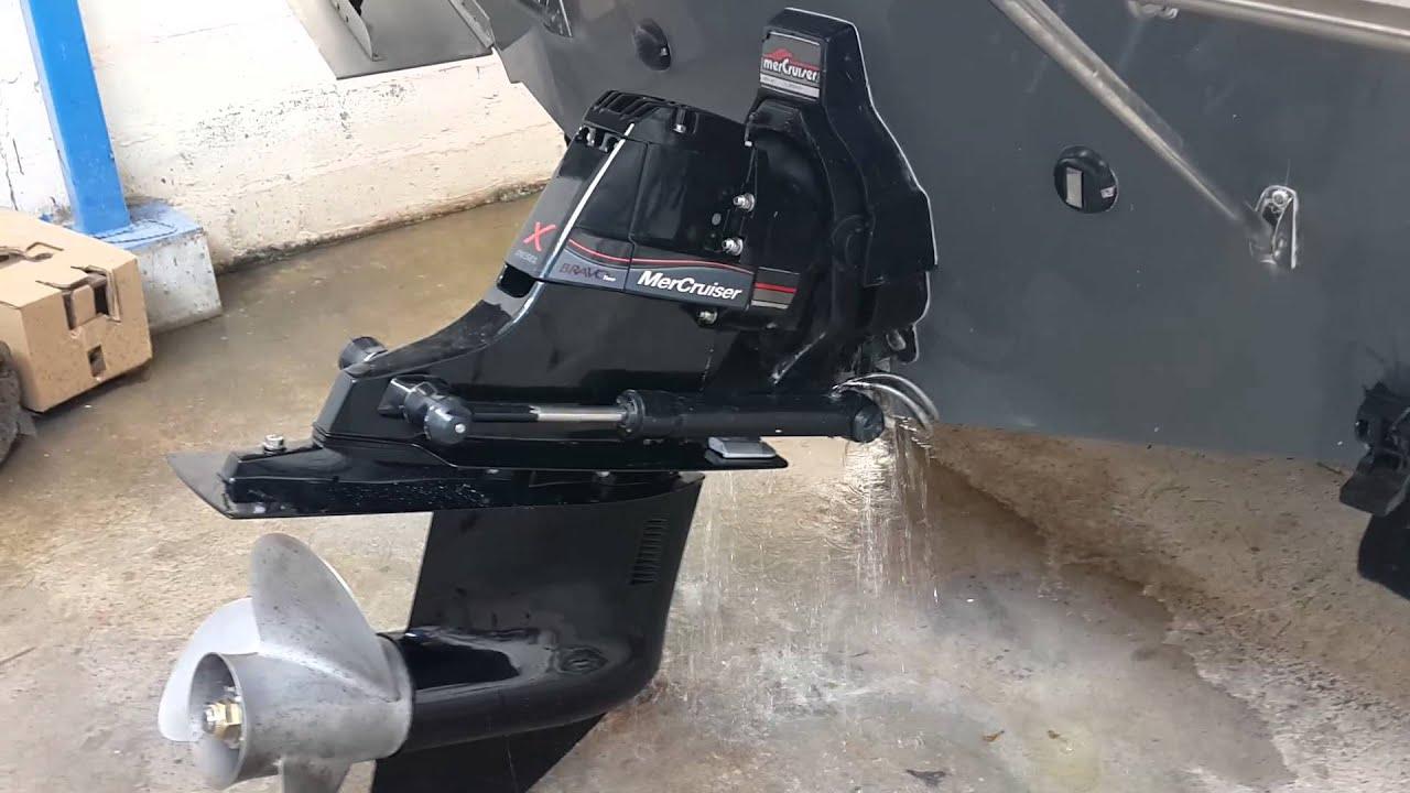 mercruiser bravo 2 outdrive manual