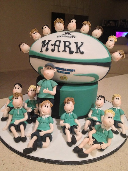 rugby ball cake instructions