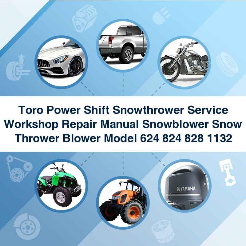 toro powershift 828 service manual