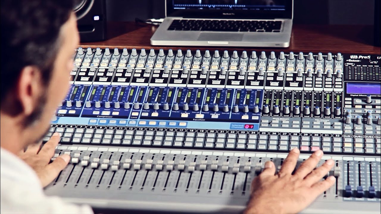 Presonus studiolive 32.4 2ai digital mixer manual
