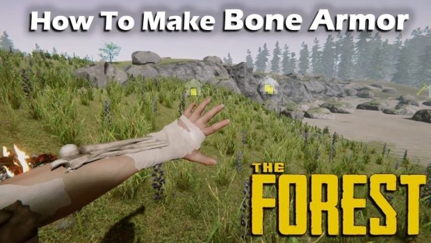 The forest how to get bones