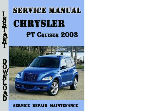 2001 pt cruiser repair manual pdf