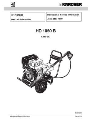 karcher hds 700 service manual
